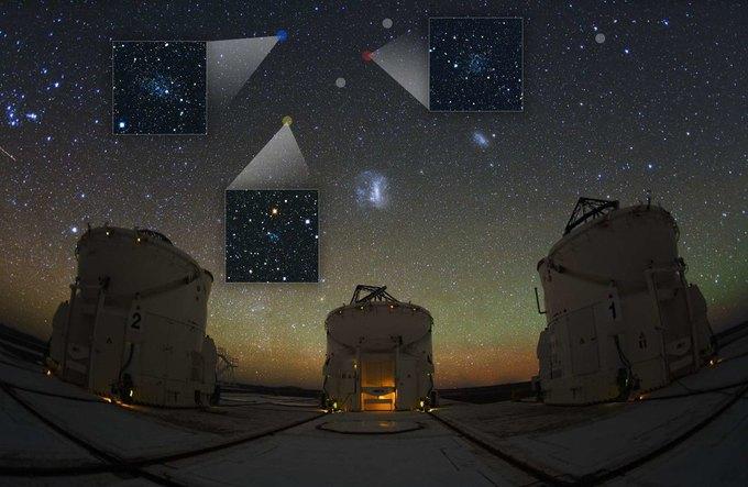 Учёные открыли карликовые галактики рядом с Млечным Путём . Изображение № 1.