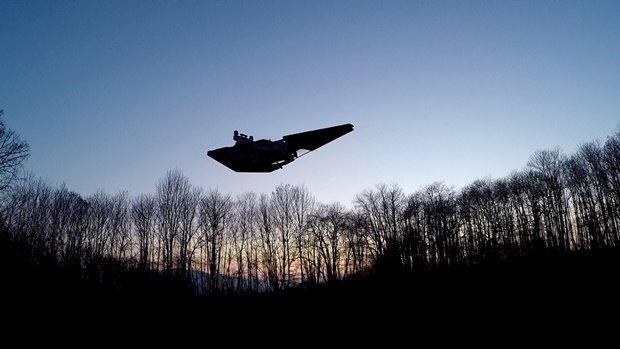 Энтузиаст собрал дрон в виде имперского крейсера. Изображение № 39.