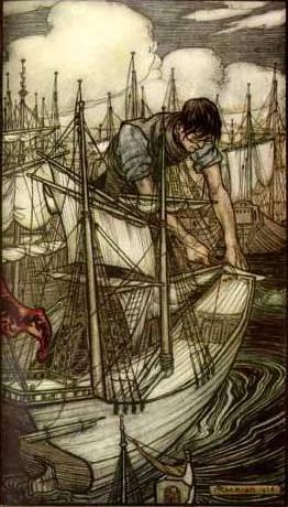Arthur Rackham (1867–1939). Изображение № 14.