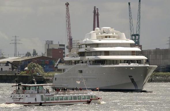 Самая большая в мире яхта. Изображение № 5.