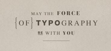 Да пребудет с вами сила типографики!. Изображение № 1.