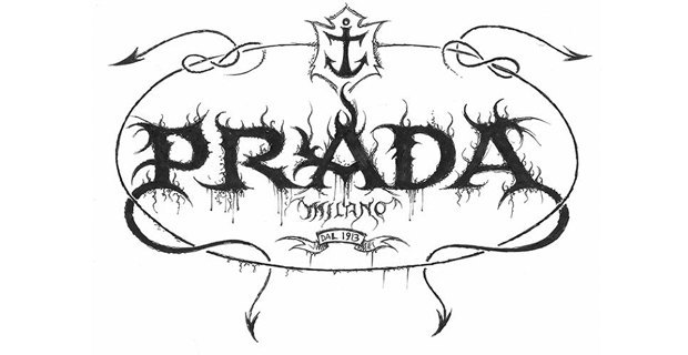 Лого известных брендов переделали в стиле блэк-метал. Изображение № 4.