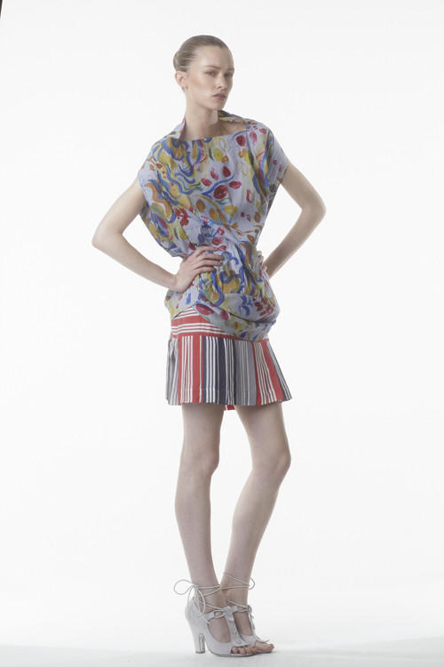 Коллекция Vivienne Westwood Anglomania S/S2012. Изображение № 21.