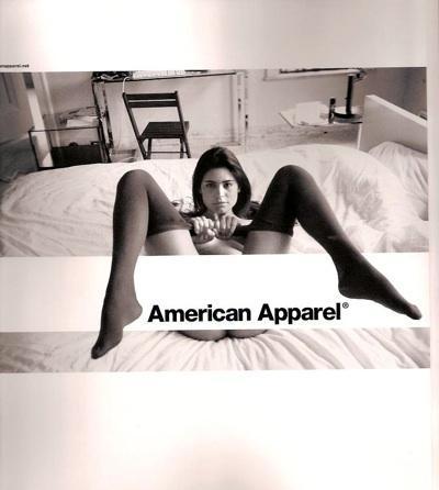 Сексуальная провокация American Аpparel. Изображение № 1.