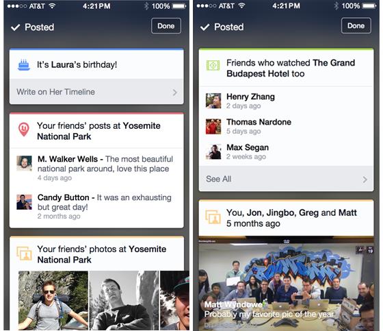 Facebook тестирует новые чекины. Изображение № 1.