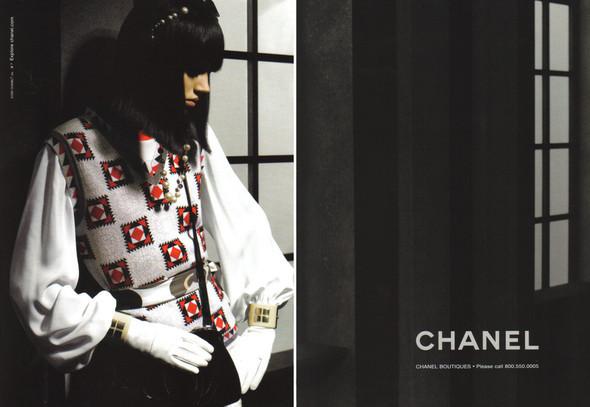 Изображение 1. Главная модель показа Chanel Фрея БеяЭриксен.. Изображение № 1.