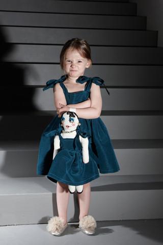 Изображение 9. Показана первая детская коллекция Lanvin.. Изображение № 9.