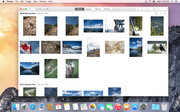Появились первые скриншоты приложения-замены iPhoto для Maс. Изображение № 2.