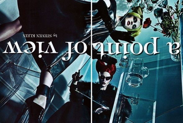 Съёмка: Стивен Кляйн для итальянского Vogue. Изображение № 1.