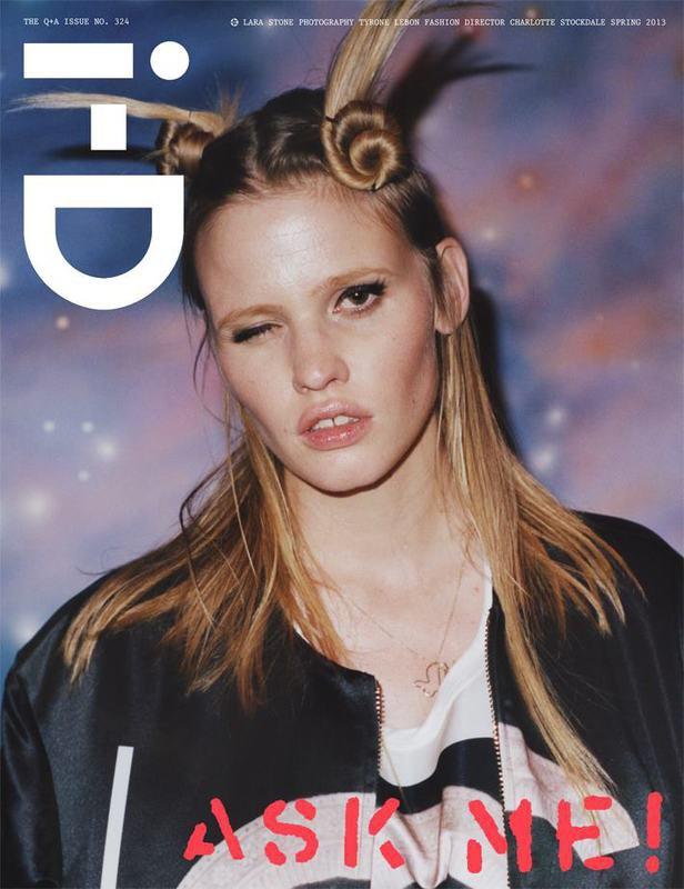 Interview, i-D и Vogue показали новые обложки. Изображение № 4.