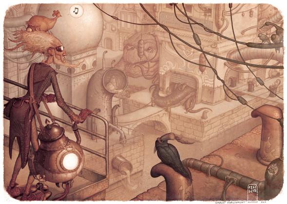 Иллюстратор Felideus Bubastis. Изображение № 8.