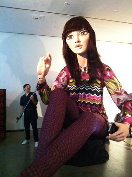 Гигантская кукла, установленная по случаю запуска Target x Missoni. Изображение № 26.
