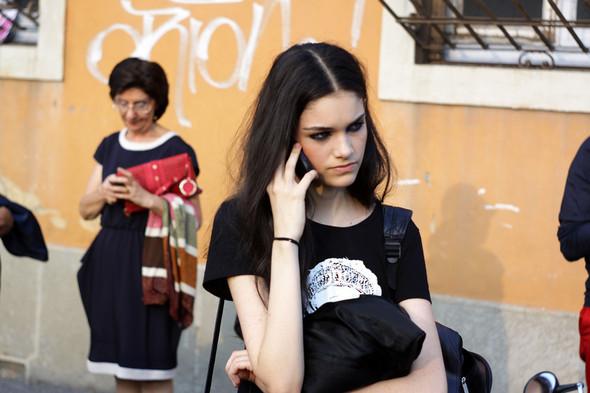 Milan Fashion Week: Модели после показов. Изображение № 18.