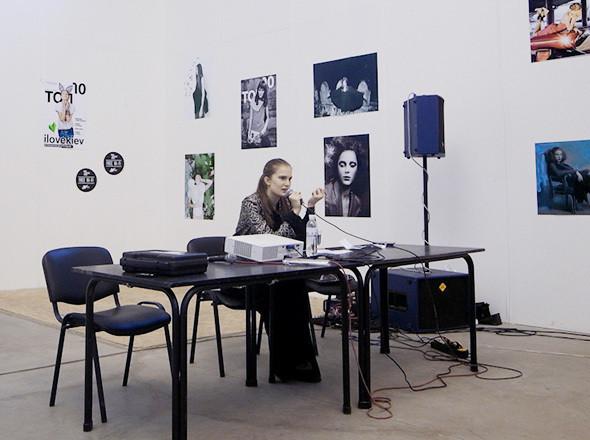 Модель Алла Костромичева читает лекцию. Изображение № 30.