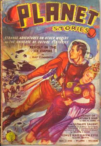 Космические обложки Pulp-журналов. Изображение № 20.