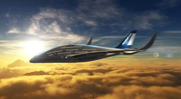Дизайнер показал проект самолёта будущего. Изображение № 4.