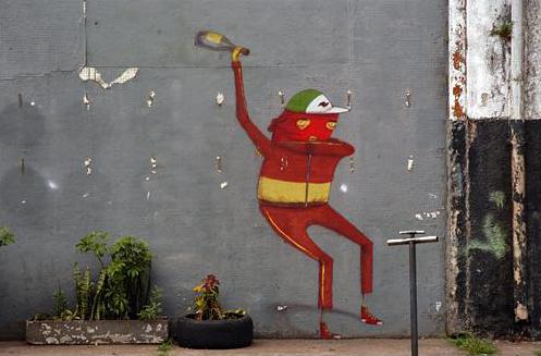 Стены Рио-де-Жанейро. Изображение № 36.