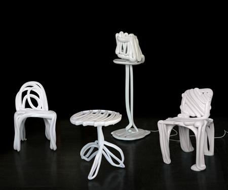 Лошадь-лампа, ходячий стол, шоколадная ваза. Изображение № 27.