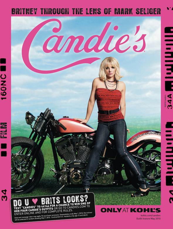 Бритни Спирс в новой рекламе Candie's. Изображение № 6.
