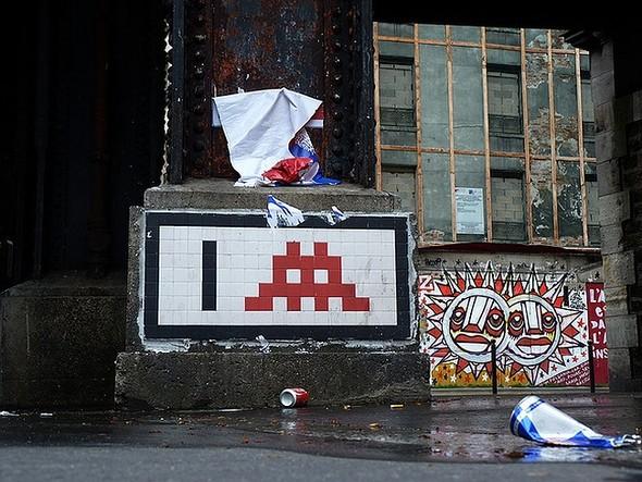 Стрит-арт в Париже. Изображение № 4.