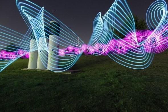 Да будет свет: 7 мастеров по световым граффити. Изображение № 4.