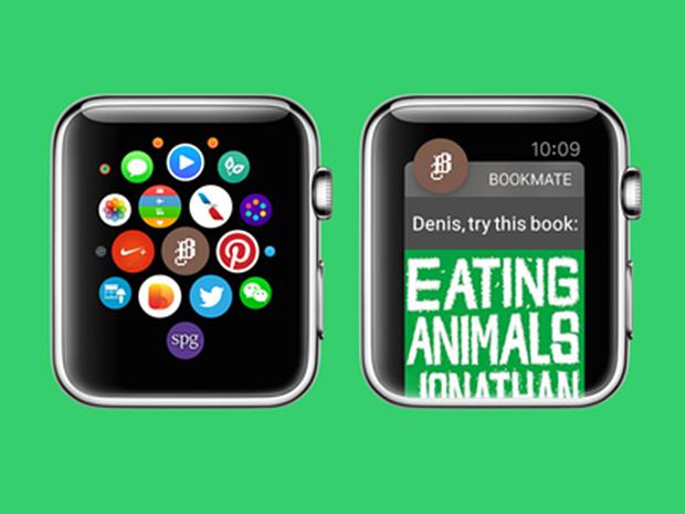 Анонс приложения Bookmate для Apple Watch. Автор: Денис Шарыпин. Изображение № 16.