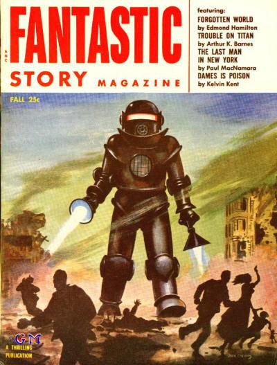 Космические обложки Pulp-журналов. Изображение № 10.