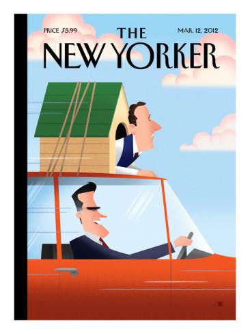 10 иллюстраторов журнала New Yorker. Изображение №80.