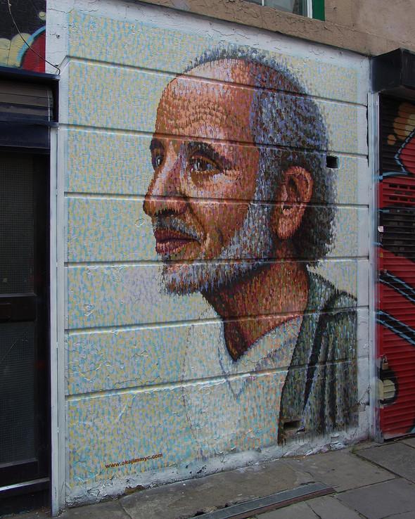 Стрит-арт в Лондоне. Изображение № 39.