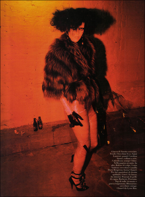 ALL TOMORROW'S PARTIES: Vogue Italia, June 2009. Изображение № 10.