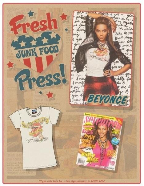 Звездные футболки Junk Food. Изображение № 5.