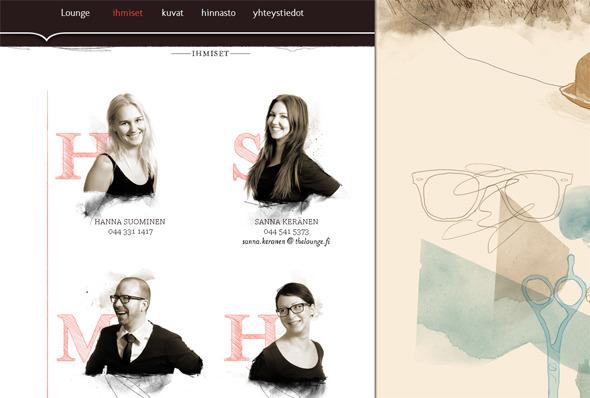 Ручная работа. Дизайн сайтов с рисованными элементами. Изображение № 26.