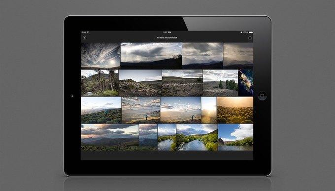 Adobe выпустила Lightroom для iPad. Изображение № 1.