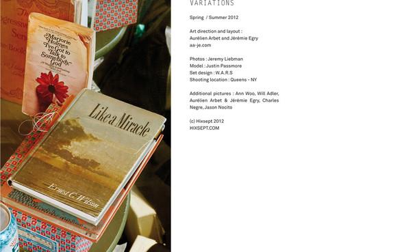 HIXSEPT/Lookbook 2012. Изображение № 16.