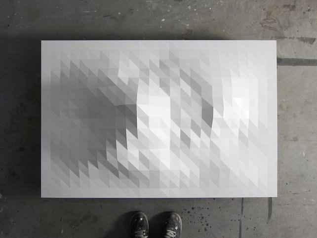 Художник превратил Wi-Fi-сигнал в скульптуру. Изображение № 2.