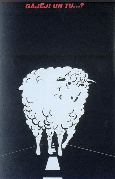 Пластическая экспрессия латышского плаката 70 – 80-егг. Изображение № 8.