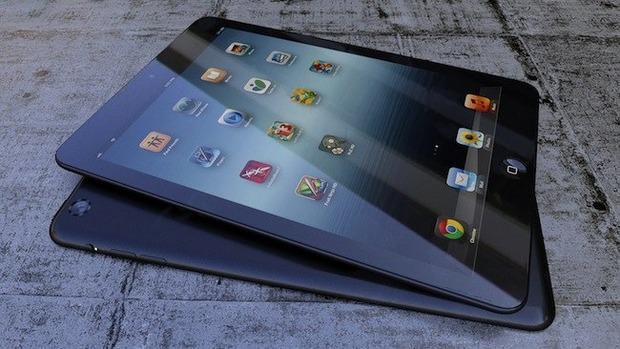 Предположительные варианты цветов iPad Mini. Изображение № 39.