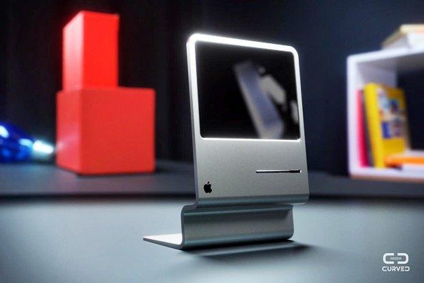 Концепт: современный iMac в стиле Macintosh 128K 1984 года. Изображение № 2.
