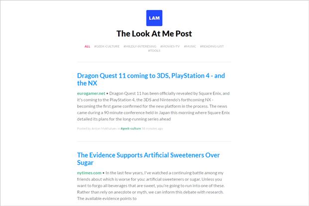 Внутри Slack создали «газеты» со ссылками из рабочих переписок. Изображение № 1.