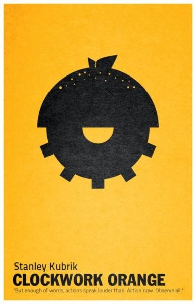 A Clockwork Orange - 20 кинопостеров на тему ультранасилия. Изображение № 3.