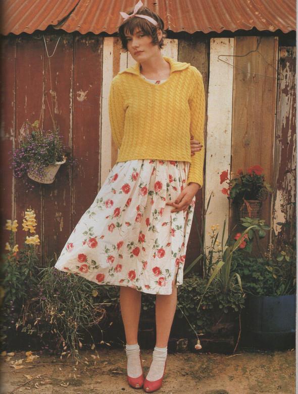 Архивная съёмка: Тим Уокер для Vogue, 1996. Изображение № 6.