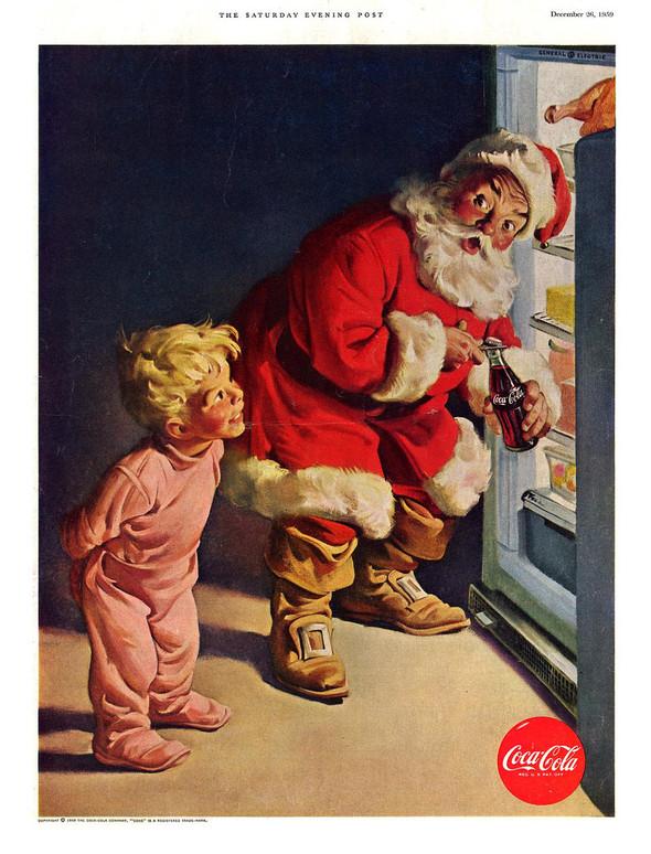 69 рождественских рекламных плакатов. Изображение № 26.