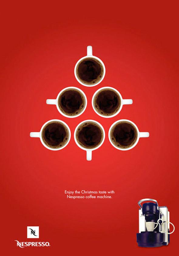 Новогоднее - Рождественский креатив в рекламе. Изображение № 12.