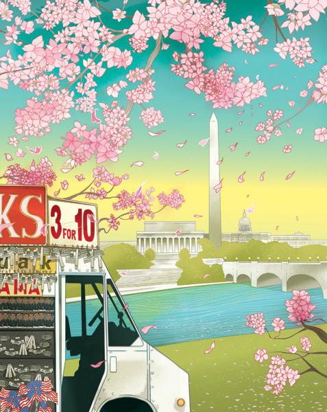 Рисунки американского иллюстратора Марко Шина.. Изображение № 20.