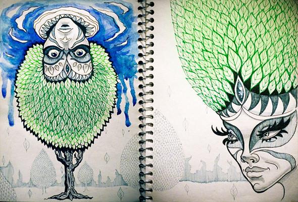 Рисунки в блокнотах. Изображение №2.