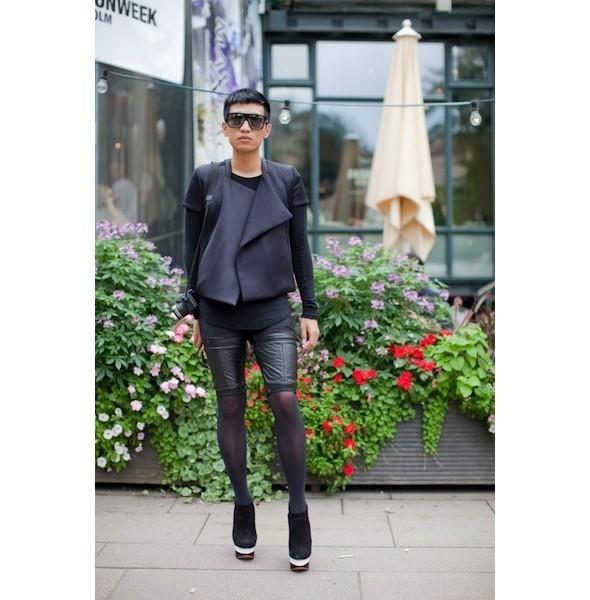 Луки с недель моды в Копенгагене и Стокгольме. Изображение № 49.