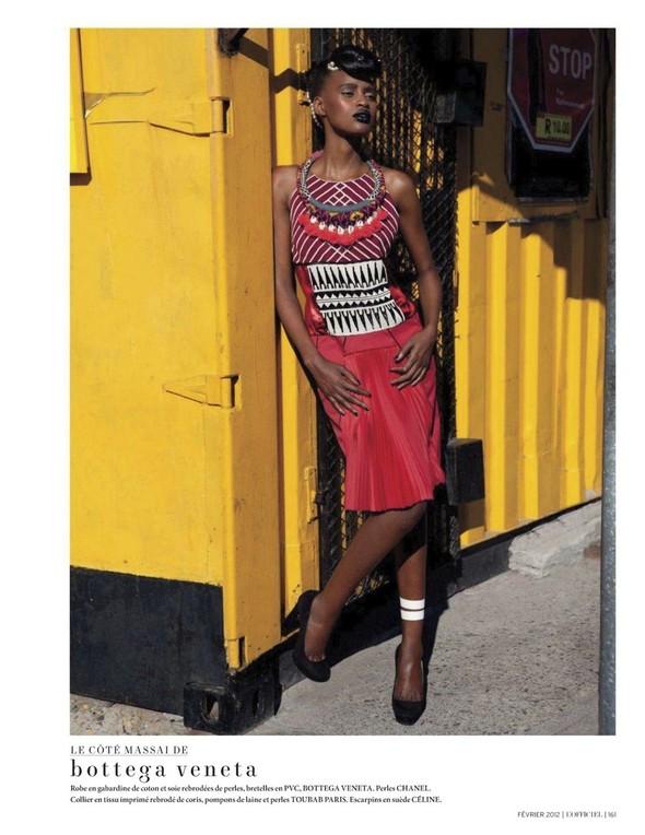 Съёмка: Шанель Иман для L'Officiel. Изображение № 19.