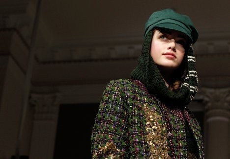 Изображение 8. Неделя Моды в Нью-Йорке. New York Fashion Week.. Изображение № 10.