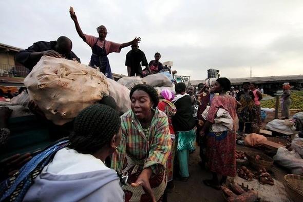 Изображение 4. Рыночные девушки из Ганы.. Изображение № 4.