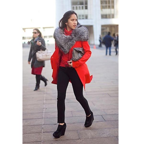 Изображение 42. На полях: 10 тенденций уличного стиля с прошедших недель моды.. Изображение № 42.